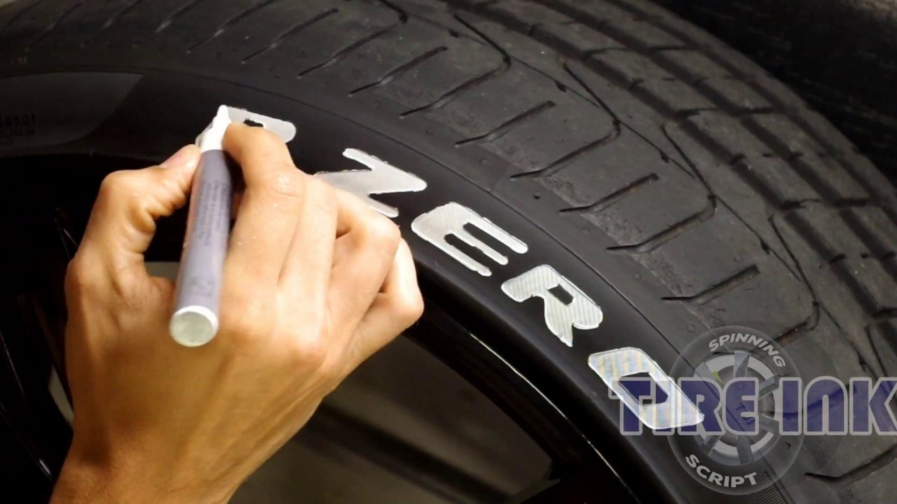 How To Remove Paint Pen From Tires