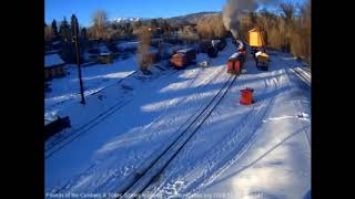 12/9/2018 Cumbres and Toltec Christmas Trains 2018 Sunday train 5