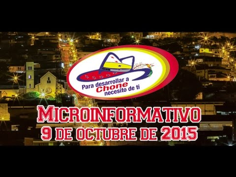 Microinformativo 9 octubre 2015
