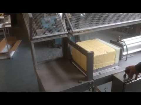 Horizontal Pneumatic Cheese Cutting Machine Youtube