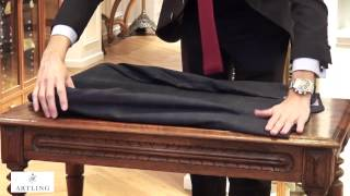 Artling - How to fold a suit to pack in a suitcase