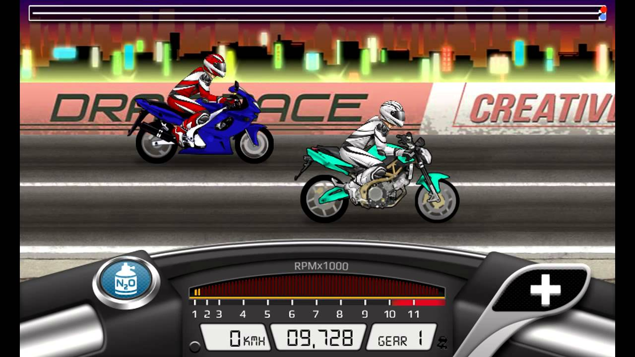 Drag racing: bike edition for android apk download.