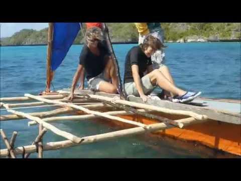 A New Sailing Canoe in Fulaga