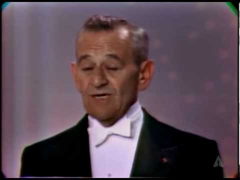 William Wyler Receives the Irving G. Thalberg Memorial Award: 1966 Oscars