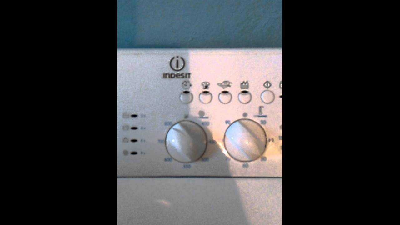 индезит стиральная машина wil 105 инструкция