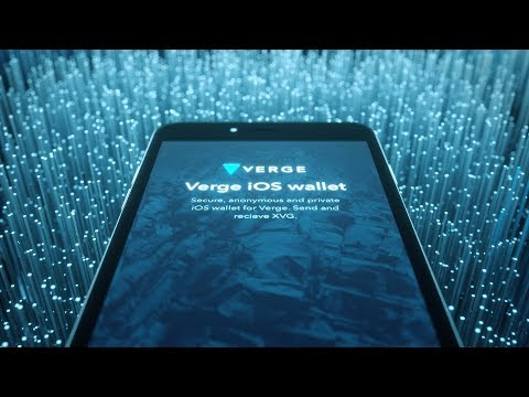 VERGE IOS Wallet Teaser