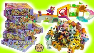 LPS Super Haul Littlest Pet Shop Box Sets - Skate Park & Bobblehead Family Pets