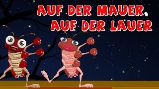 Auf der Mauer auf der Lauer | Kinderlieder deutch | German nursery rhymes