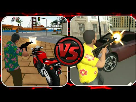 Vegas Crime Simulator Vs Gangster Town: Vice District ( By Naxeex LLC & Naxeex Studio)
