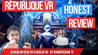 Republique VR Review on Oculus Go & Gear VR - Great Stealth Game!