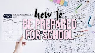 How To Prepare For A New Semester/School Year!   Reese Regan thumbnail