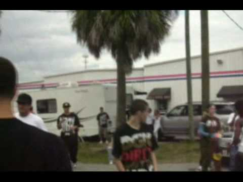 Antwuan Dixon Getting Kicked out of Tampa Pro 2009 The Beginning