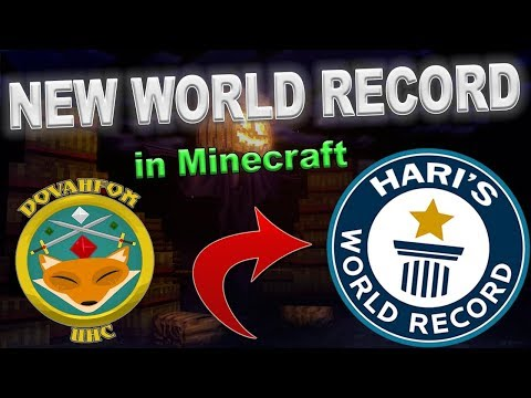 NEW WORLD RECORD! | Shortest Time in a Minecraft UHC (Dovahfox UHC Season 3)