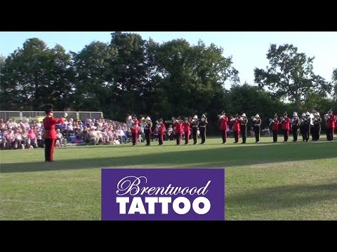 Brentwood Tattoo 2015: Fanfare & Massed Corps of Drums