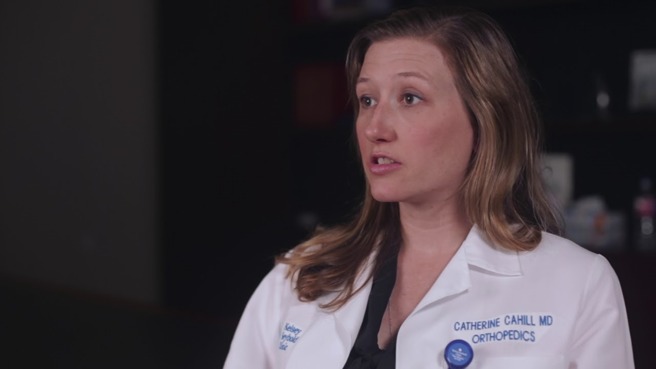 Houston Orthopedic Surgeon Dr  Catherine Cahill