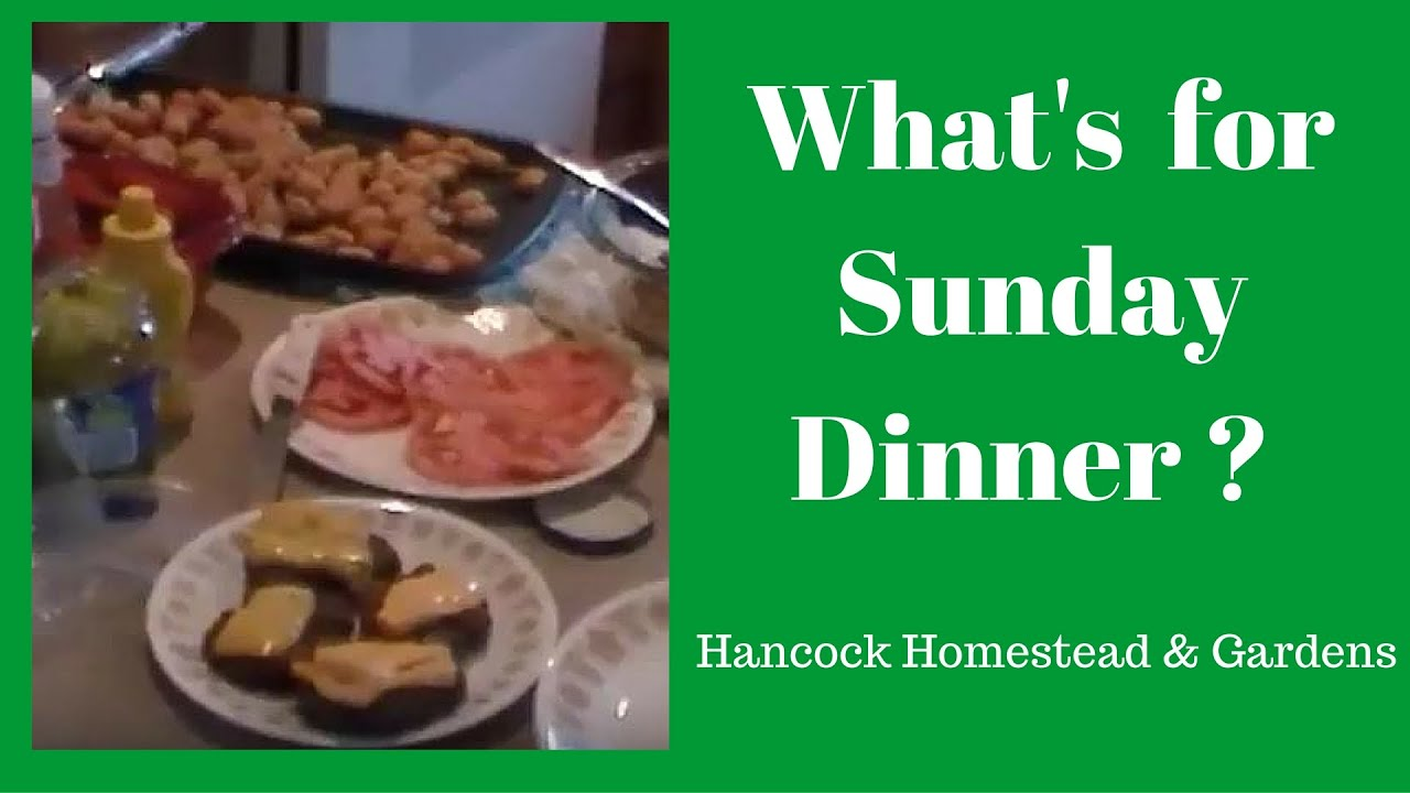 What S For Sunday Dinner 3 13 Homesteading By Hans 2016