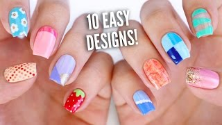 10 Easy Nail Art Designs for Beginners: The Ultimate Guide #4!