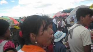 Cerro Acuchimay Ayacucho - fiesta en el cerro