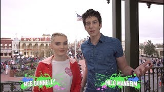 thattaway with meg donnelly milo manheim wdw best day ever