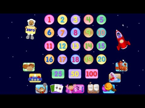 ✿★Starfall Numbers★✿ Best numbers counting learning 1-20 app for kids