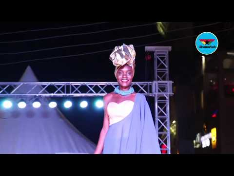 Miss Ghana Street Fashion Show: Contestants display designs of Afriken