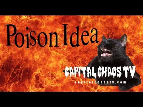 Poison Idea ~Full Set~ LIVE   Sacramento   on Capital Chaos TV