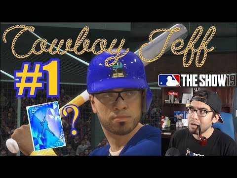 COWBOY JEFF'S FIRST VIDEO EVER!   MLB The Show 19   Diamond Dynasty #1
