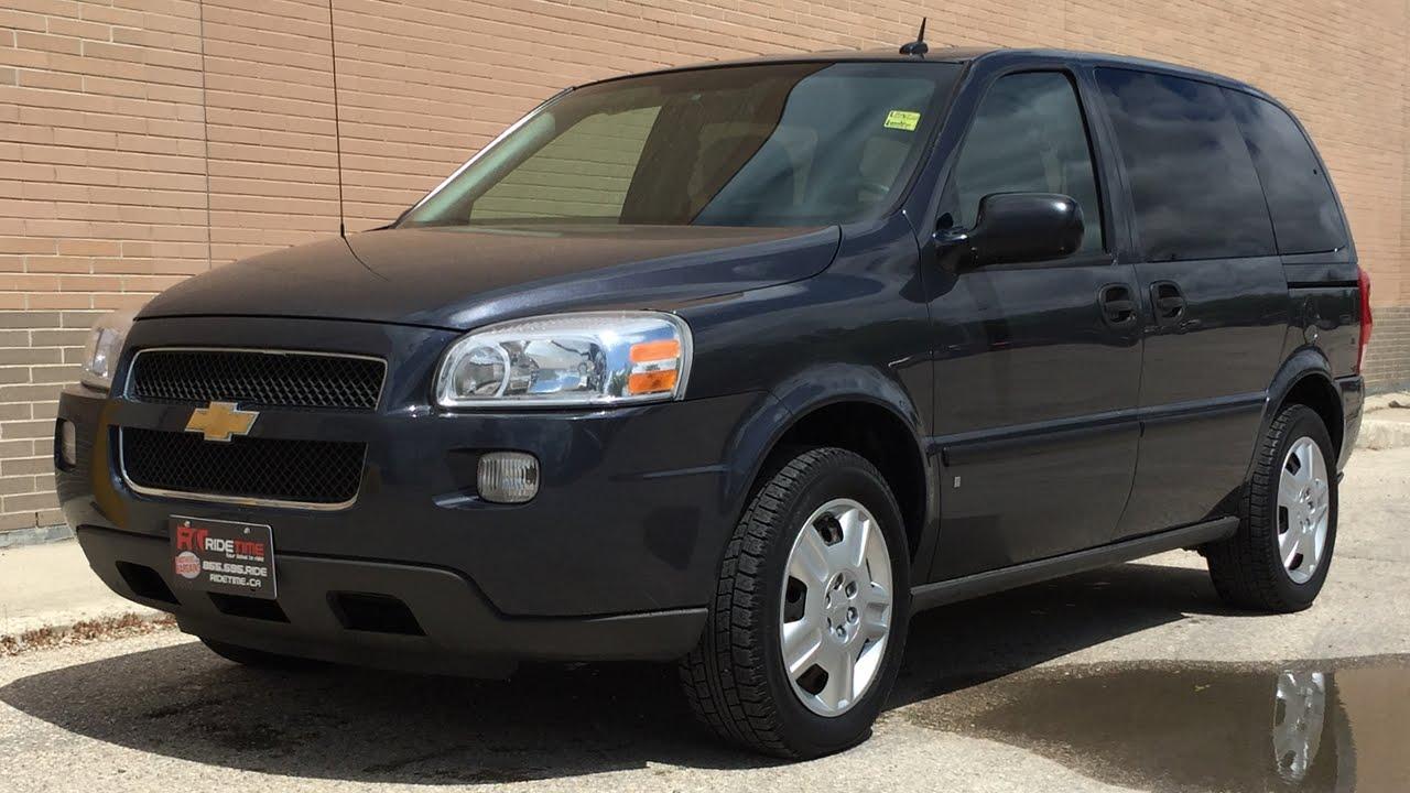 2009 Chevrolet Uplander LS  7 Passenger Short Wheelbase  For