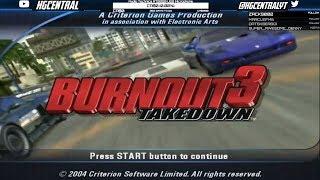Burnout 3: Takedown (Part 1) - Thunder Stream - 1/5/2018