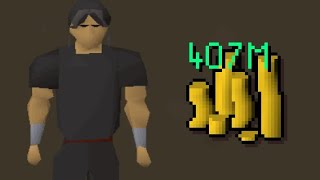 I Made 407m in 1 Day FROM SCRATCH in OSRS (No Staking)