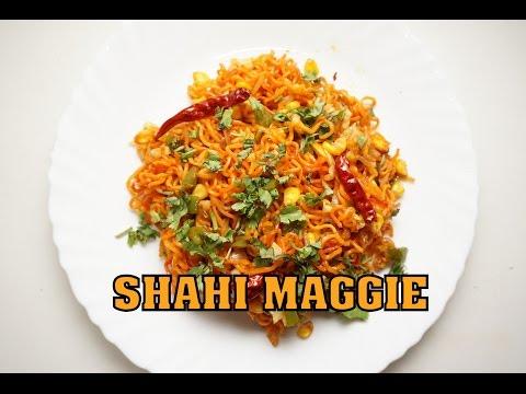 Shahi Maggi Recipe (Hindi) - TwinkleRecipes.Com