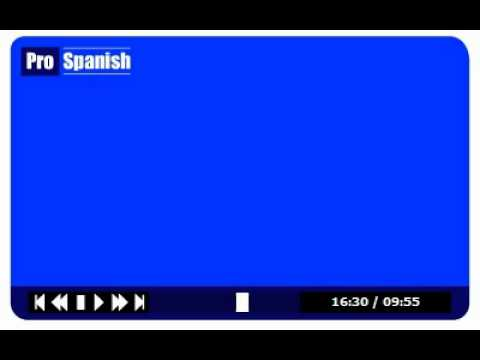 Learn Spanish Level Lesson