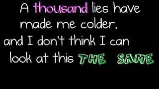 3 Doors Down - Here Without You [lyrics]