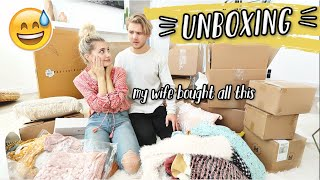 UNBOXING HOME DECOR FOR THE NEW HOUSE! MOVING VLOGS!