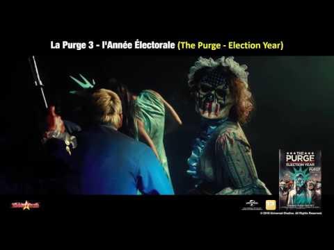 La Purge 3 - l'Année Électorale (The Purge - Election Year) - Bande Annonce