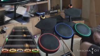 """GH 5: """"Afterlife"""" by Avenged Sevenfold (expert+ drums sightread 5*)"""