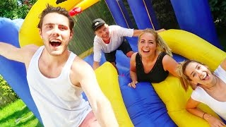 BOUNCY CASTLE SURPRISE!!