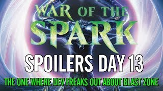 War of the Spark Spoilers: Blast Zone, Oath of Kaya, Bioessence Hydra, and More!