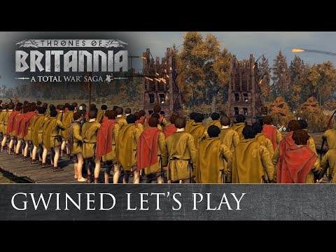 Total War: THRONES OF BRITANNIA - Gwined Lets Play