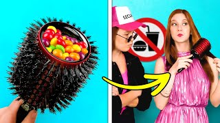 HOW TO SNEAK FOOD FROM ANYONE || Clever Food Hacks And Awkward But Funny Situations