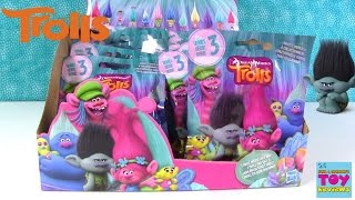 Trolls Series 3 Blind Bag Figures Opening Unboxing Full Box | PSToyReviews