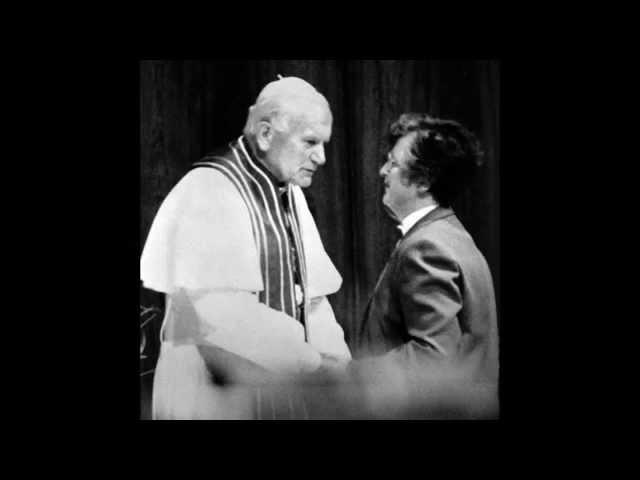 Helen Garvey, BVM, Reflects on Addressing Pope John Paul II