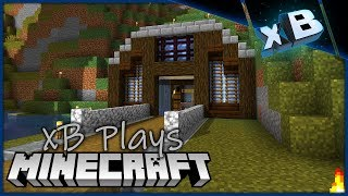 Remaking An Entrance! :: xBCrafted Plays Minecraft 1.14 :: E51