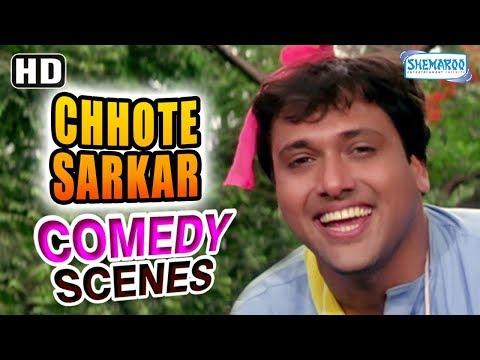 Best of Govinda scenes from Chhote Sarkar (HD) - Shilpa Shetty - Kader Khan - Hit Comedy Movie