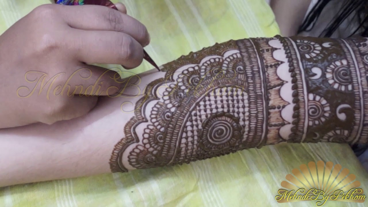 Image result for Bridal Henna|How to Make Bridal Mehndi Design|Step by Step|Mehndi By Pekhom