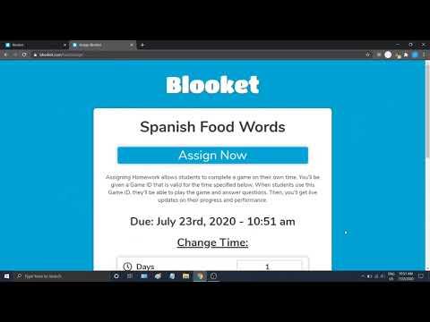 Hướng dẫn tạo trò chơi học tập, bài trắc nghiệm online bằng Blooket