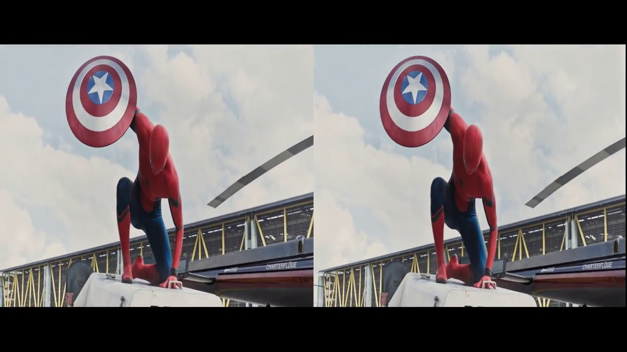 Человек-паук: Возвращение домой. Русский трейлер (A) 3D 2K ...