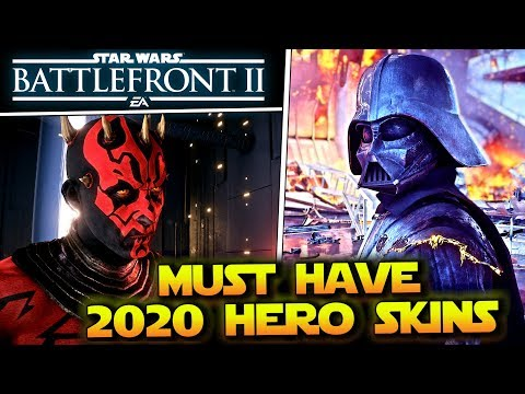 Most Wanted Hero Skins For Star Wars Battlefront 2 in 2020 |