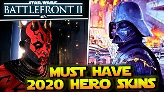 Most Wanted Hero Skins For Star Wars Battlefront 2 in 2020