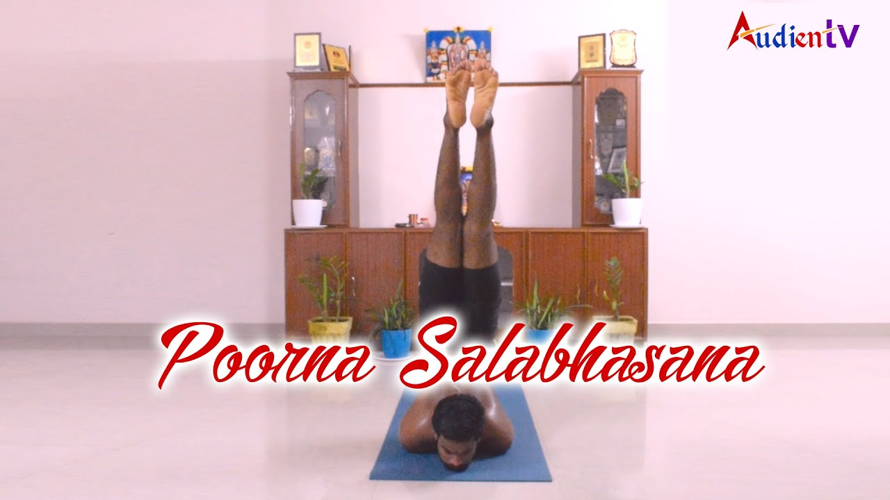 Poorna Salabhasana | Full Locust Pose Yoga - YouTube